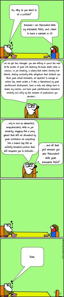 Why do a Postdoc?