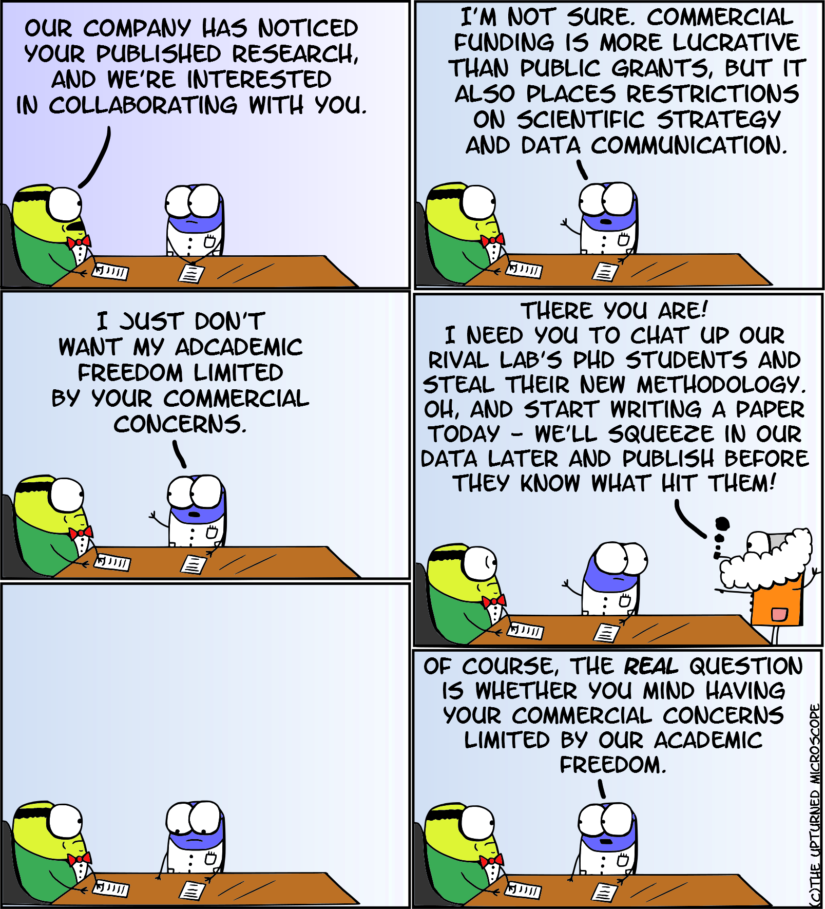 Academia vs industry | The Upturned Microscope