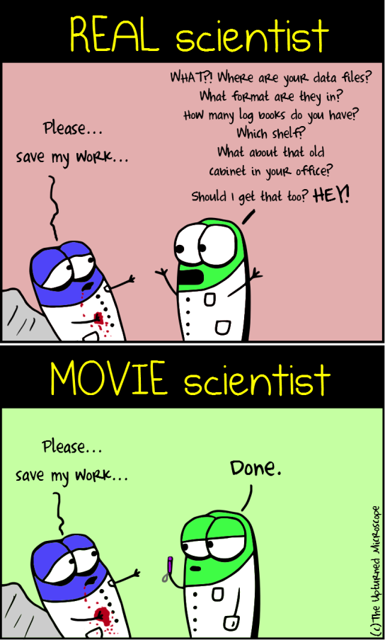 Real vs movie scientist3