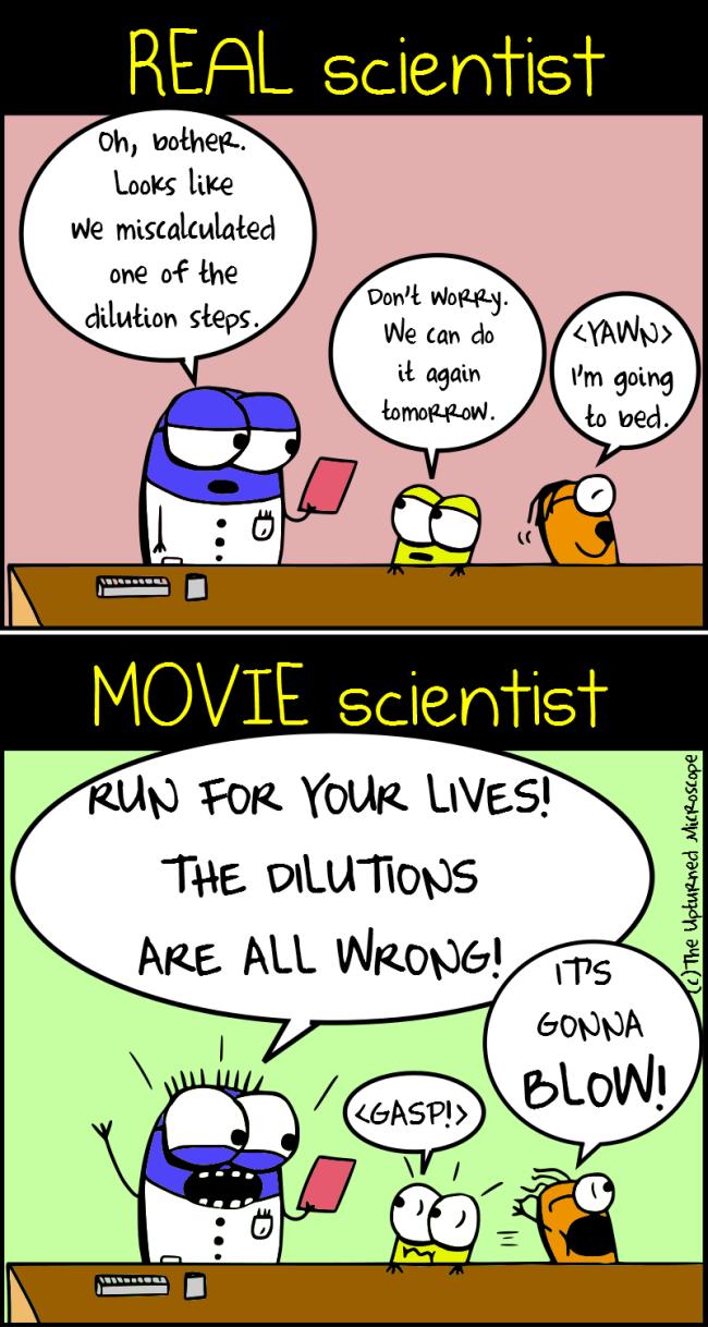 Real vs movie scientist4