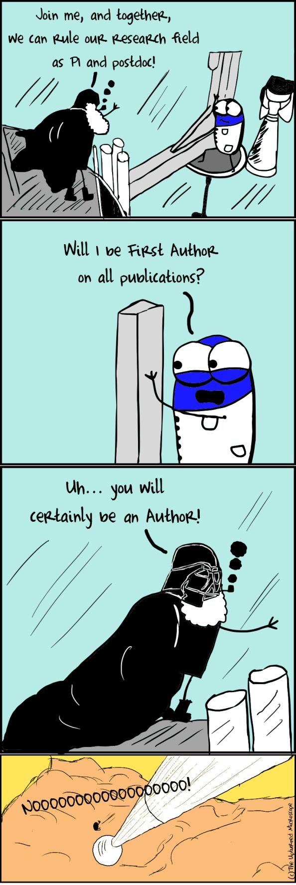 phd comics origin of the thesis