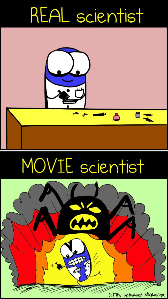 Real vs movie scientist5