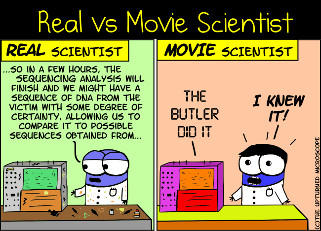 real vs movie scientist 7