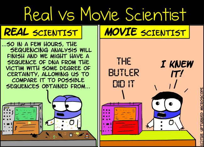 real vs movie scientist 7